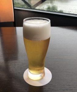 界遠州夕食ビール