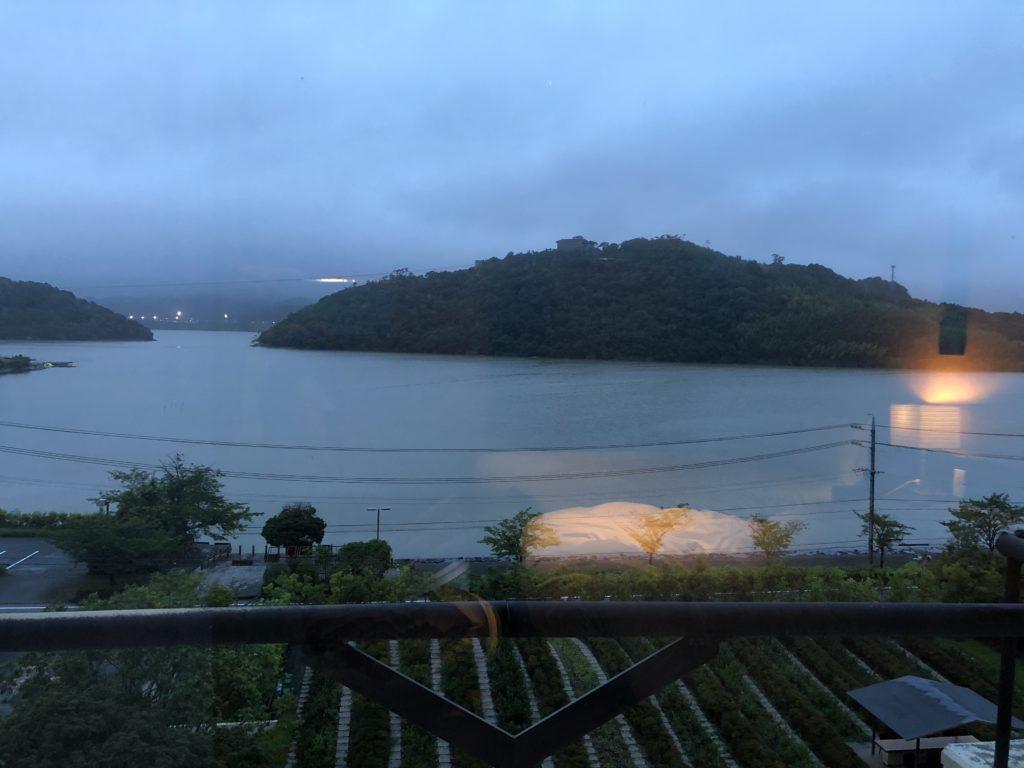 界遠州朝の浜名湖
