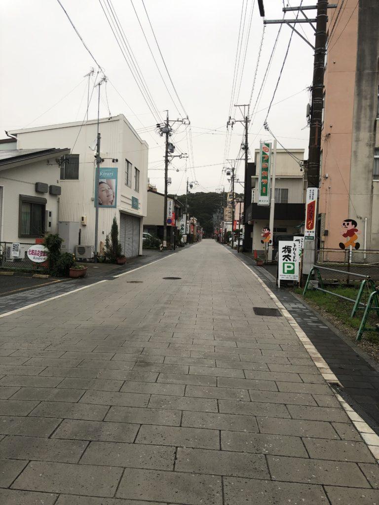 舘山寺参道