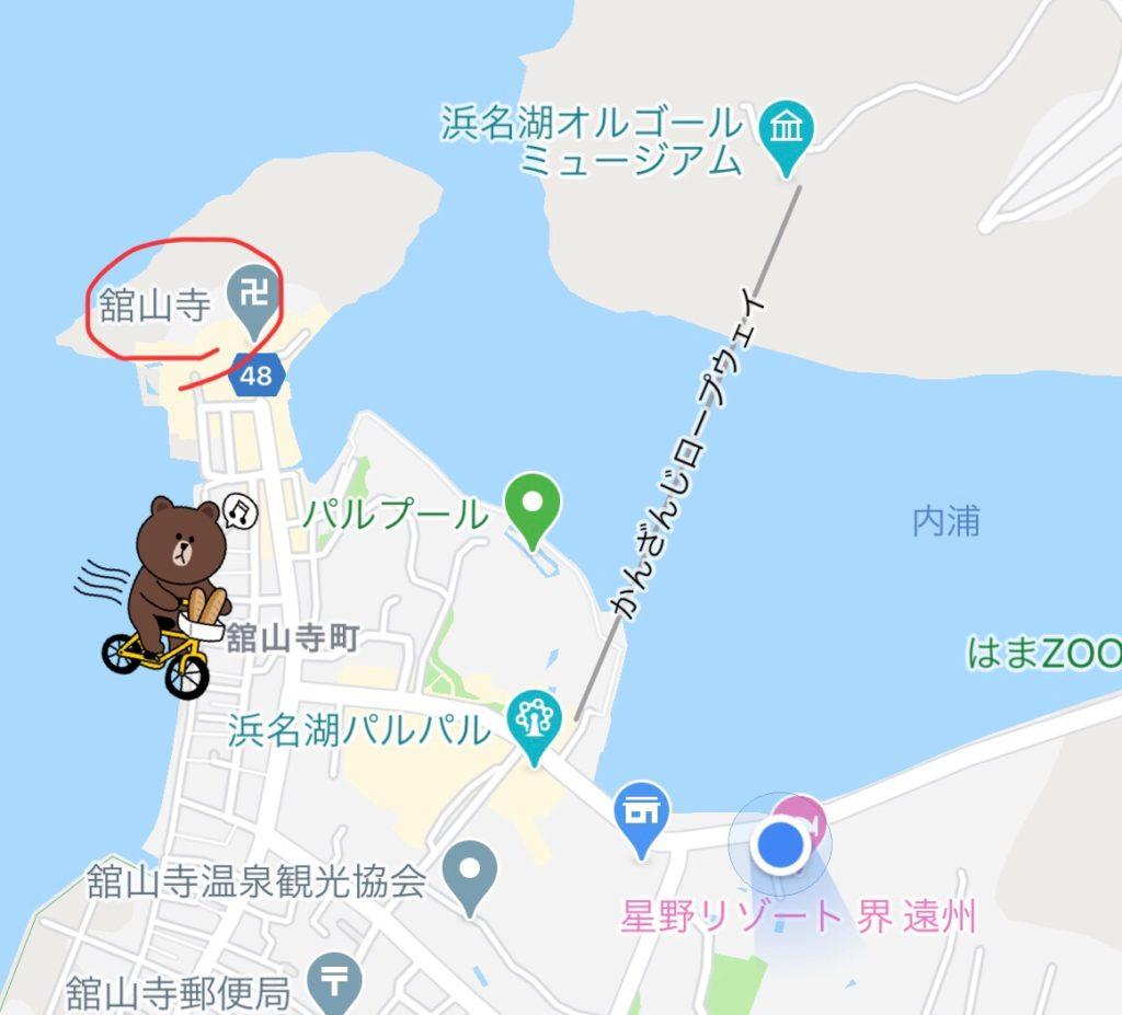 舘山寺地図