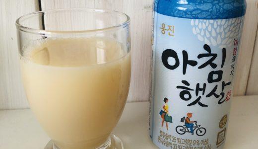 米のジュース!アチムヘッサルが飲みたくなったついでに韓国食材を物色する。